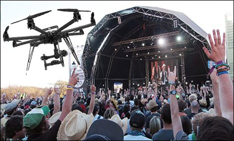 Video Drones The Next Big Thing At Outdoor Events
