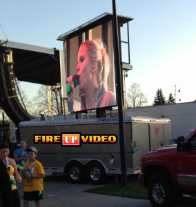 mobile led jumbotron big screen outdoor video board event rental