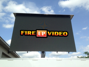 led jumbotron mobile big screen tv rental for outdoor events