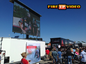 mobile led outdoor jumbotron big screen TV for event rental