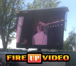 mobile led jumbotron big screen tv video board for outdoor event rental