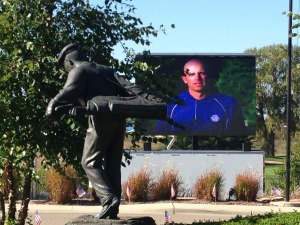 mobile led jumbotron screen tv for outdoor events for rent