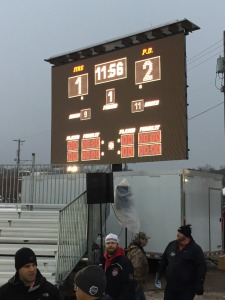 LED Jumbotron big screen tv video wall score board for outdoor sporting event rental