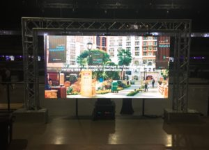 led video wall modular screen rental