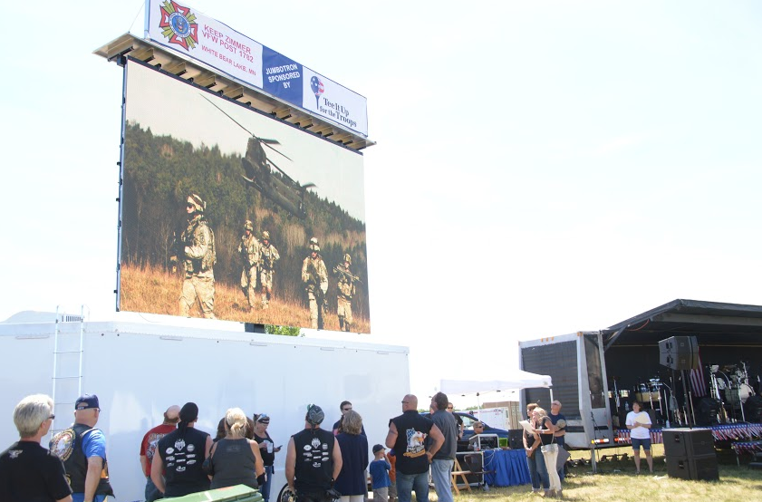 Rent a Mobile LED Video Wall for Des Moines Events | Mobile
