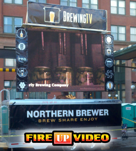 mobile led jumbotron video wall big screen tv for event rental