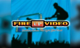Image of the Fire Up Video Logo