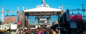 DragonFly LED jumbotron outdoor screens for events