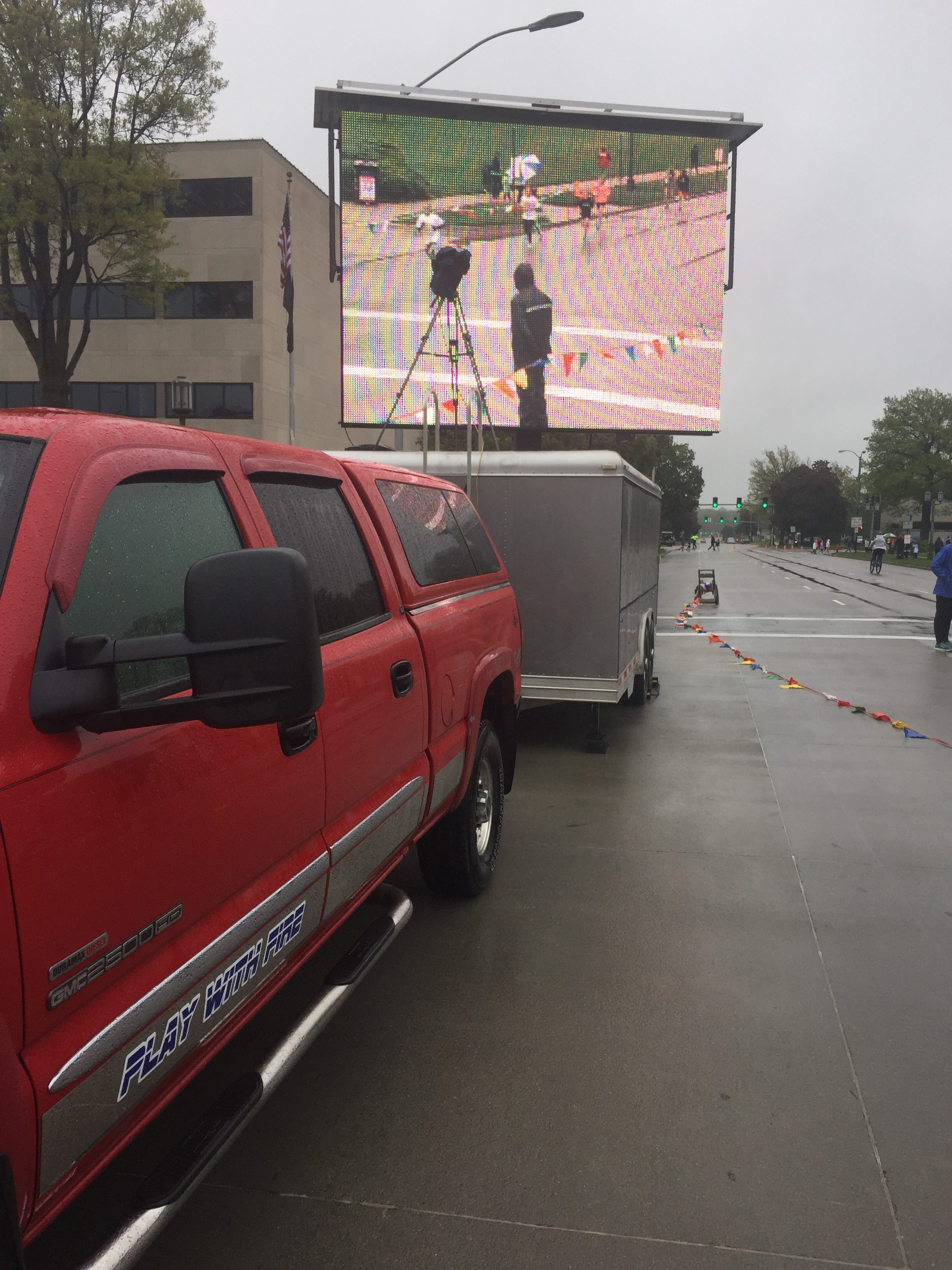 led mobile jumbotron video board screens for event rental for outdoor events