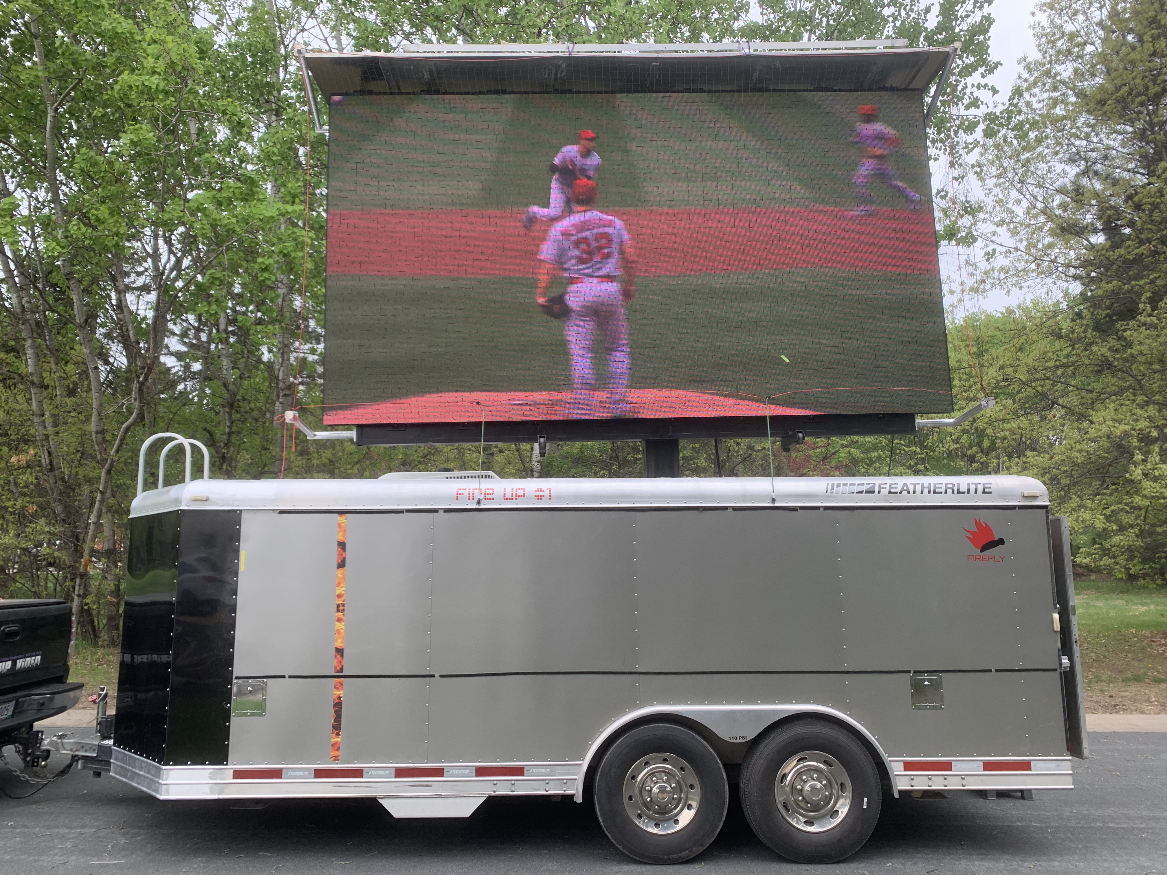 led mobile video board jumbotron screen rental for outdoor events