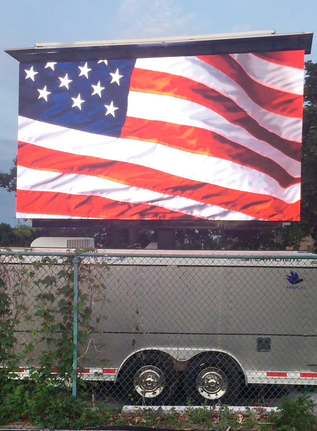 led mobile video screen jumbotron rental for outdoor events