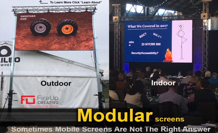 Modular LED Video Walls