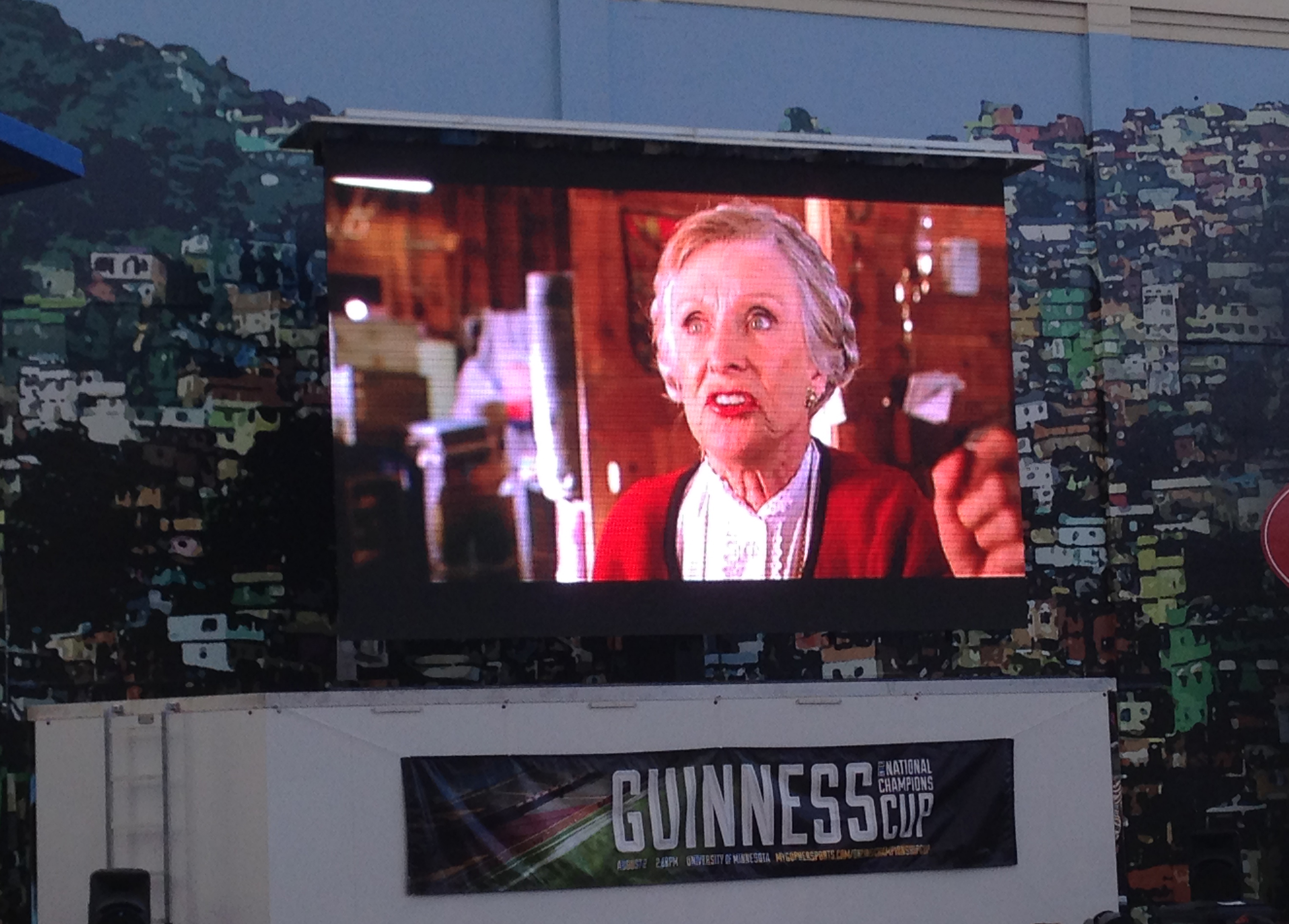 led screen rental for drive in movie night during covid-19